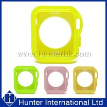 2015 Newest Fancy Colorful Tpu Case for iWatch