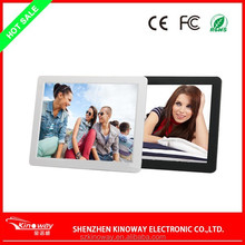 12 inch photo frame digital with CE/ROHS/FCC