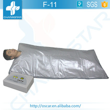 Hot sale far infrared thermal blanket for lymph drainage /slimming /detox