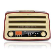 OKLY-18 Portable Retro fm radio kitchen clock radios with am/fm tuner
