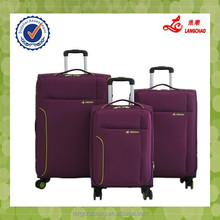 New material nylon four wheels travel luggage set travel luggage designer luggage sets
