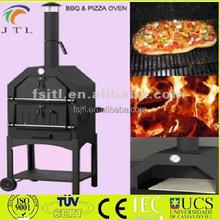 Vendita diretta in fabbrica esterno legno- licenziato pizza forno a macchina del carbone di legna
