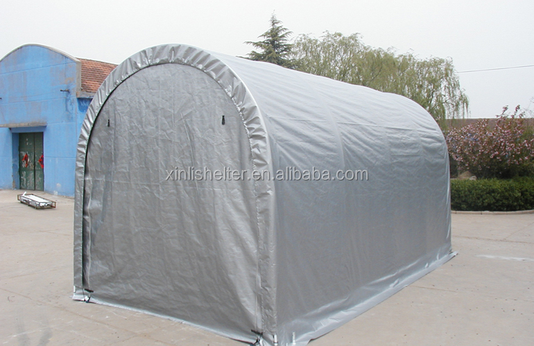 Pvc Boat Shelter : Portable garage d inflatable boat cover view