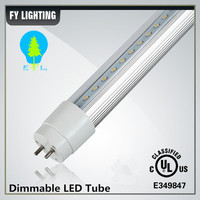 High lumen Frosted cover dimmable t8 led tube light 4ft internal driver