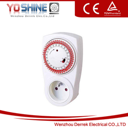 French Weekly Mechanical Plug In Timer Switch YXF-01A