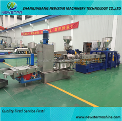 Hot selling factory direct supplying pelletizing extruder for PET recycling