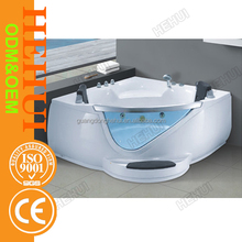 RC-D732 porcelain drop in bathtub and prices saudi ceramic sanitary ware with spa bath 2 persons