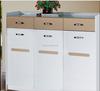melamine laminated shoe cabinet rack/wooden shoe rack/high quality modern wooden shoes storage cabinet