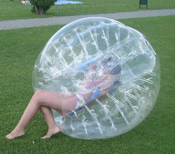 High Quality Inflatable Human Soccer Bubble Ball for Foot ball Outdoor Attractive Promotional Football Inflatable Body Zorb Ball