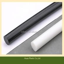 Economic hot sell high stiff green color cast nylon rod