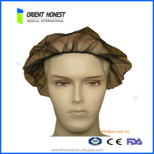 HOT sales Protective soft disposable nylon hairnet for workers hubei china