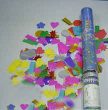 electric party popper / wedding streamer party poppers / rose petal party popper