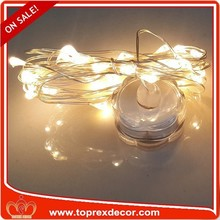 Copper wire LED string lights for Outdoor Christmas Decorative