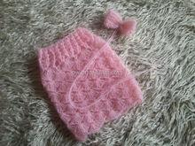SALE PRICE Newborn Baby Mohair Skirt and Tie Back Full set Newborn Photo Props