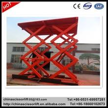 Fixed scissor lift, garage car lift,international trade platform lift