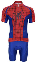 Spider man cycling jersey wear set suit diamond detector second hand items