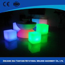 Professional made high quality wholesale led cube lighting table