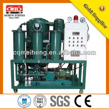 ZLA Good vacuum transformer oil purification machine vacuum centrifugal oil cleaning system