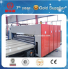 China supply Automatic 4 color corrugated carton flexo printing die cutting machine