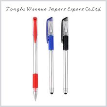 Promotion advertising cheap plastic gel pen