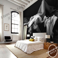 To enjoy the enthusiasm 3d hot sexy girl wallpaper for hotel room mural theme customize