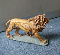 resin lion animal