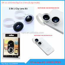 new products 2015 !For Ipad camera lens,3 in 1 clip lens for Ipad,0.67x wide angle macro lens+fisheye lens for all mobile phone
