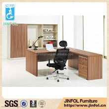 Factory price Walnut Office Furniture Set , melamine modern office furniture made in china