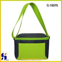Factory customized insulating effect cooler bag, beer can cooler bag, polyester cooler bag