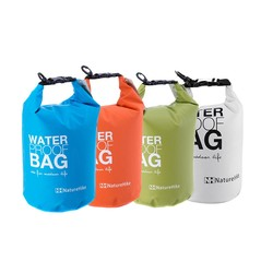 4Colors 2L Ultralight Portable Outdoor Travel Rafting Waterproof Dry Bag Swim Storage Blue/White/Orange/Green Camping Equipment