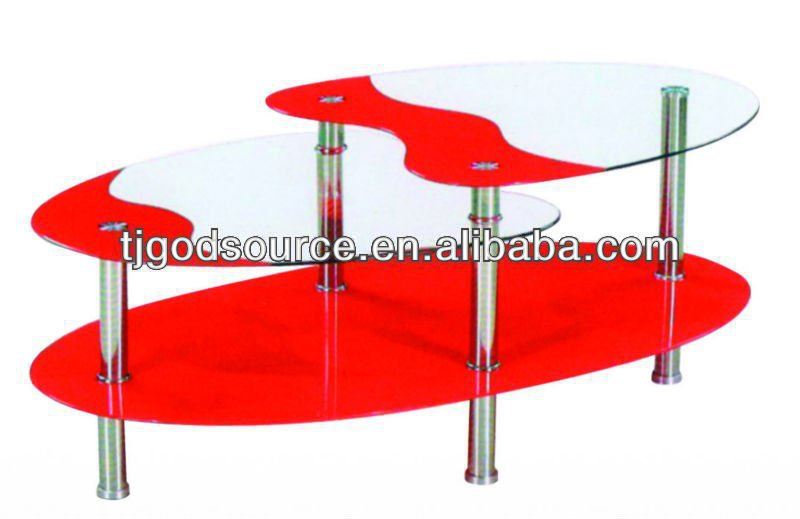 cheap iron glass table