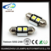 Hot sale Festoon 5050 2SMD Led Auto Lamp Reading Light High Quality 12V Led Car Light
