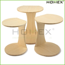 Eco-friendly wood nesting tables/end table/coffee table/HOMEX