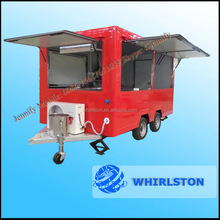 New model can be customized logo Mobile Ice Cream Food trailers,modern mobile food cart