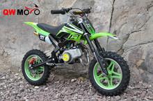 CE QWMOTO 2015 New High Quality 49cc 50cc Cheap Mini motorcycle 49cc gas power bikes 49cc China off road dirt bike