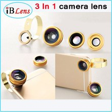 Available in Various Types Aluminum Clip 3 In 1 camera Lens For Mobile phone