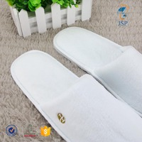 printed logo factory disposable hospital slippers