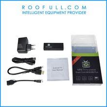 MINI PC MK808B Plus Amlogic M805 Quad Core Android 4.4 Mini PC Smart Google TV Stick Dongle 1GB 8GB WIFI H.265 DLNA Miracast
