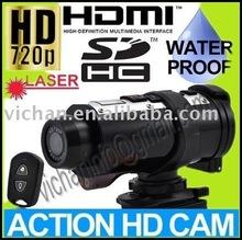 720P HD HEMI helmet mounted camera