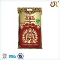25kg mulitcolored bag of rice / China new transparent material pp woven bag for rice packing 25 kg /coated rice bag of 25kg