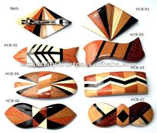 Wood And Animal Bone Hair Clip, Hair Grips ( BIG )