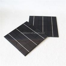 High efficiency 165*165mm 6V 4W low price mini laminated solar panel PET solar module
