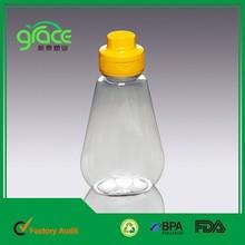 ningbo cixi packing box 100ML1000ML3000ML difierent capacity plastic shampoo bottle
