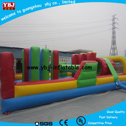 high quality outdoor giant inflatable obstacle