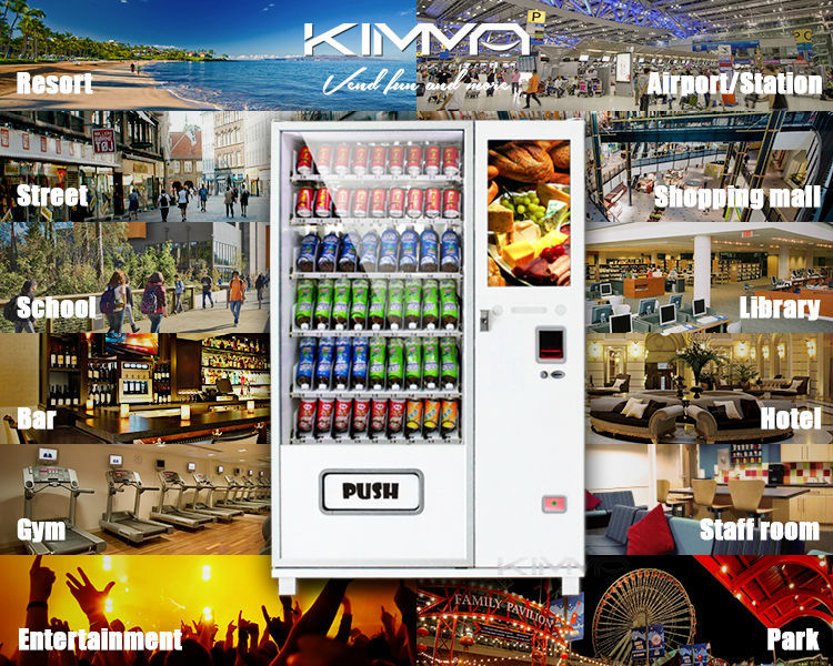 Lcd Screen Large Selections Vending Machine Mdb Operated ...