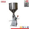 Popular A03 contemporary manual ointment cream filling machine