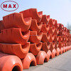 "Henan Max 12"" Rubber Pipe Plastic Pontoons for Sale"