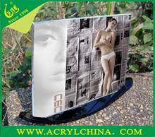 2015 New Style Acrylic Creative Photo Frame, Open Lovely Hot Sexy Girl Photo Or Photo Picture Frame