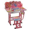 XD-501,Wooden top metal leg study table and chair school furniture for children's education