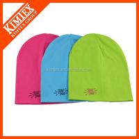 2015 New Designed custom jersey beanie hat